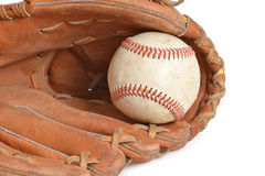 Baseball Equipment Royalty Free Stock Photography