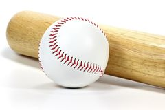Baseball. Equipment isolated on white background Stock Image