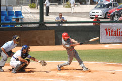 Baseball European Championship Stock Images