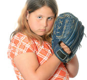 Baseball-Fang Lizenzfreies Stockbild