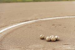 Baseball-Feld Lizenzfreies Stockbild