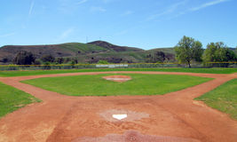 Baseball-Feld Stockfoto