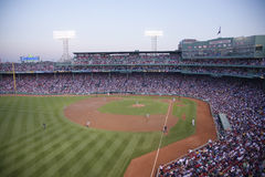 Baseball at Fenway Park Royalty Free Stock Photos