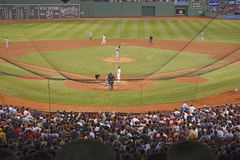 Baseball at the Fenway Park Stock Photography