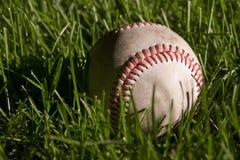 Baseball on the field Stock Image