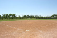 Baseball Field Royalty Free Stock Photos