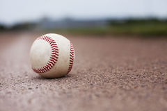 Baseball on Field Royalty Free Stock Image