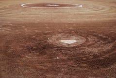 Baseball field. Detail of a baseball field Stock Photography