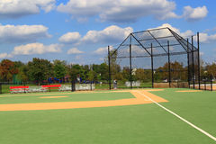 Baseball Field. Special Baseball field with wheelchair accessible for handicaps stock photography