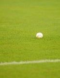 Baseball on field Royalty Free Stock Photo