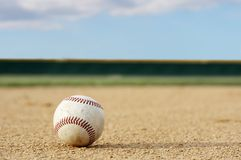 Baseball field Royalty Free Stock Image