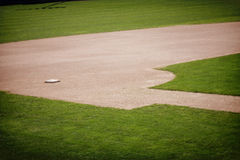 Baseball Field Background Royalty Free Stock Photos