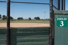 Baseball field 3, city park