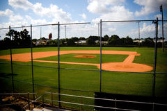 Baseball Field Empty Stock Photos