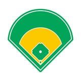 Baseball field icon Royalty Free Stock Photo