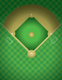 Baseball Field Illustration Stock Photography