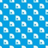Baseball field pattern seamless blue Stock Image