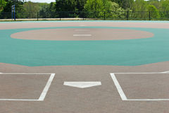Baseball Field2 Stock Photo