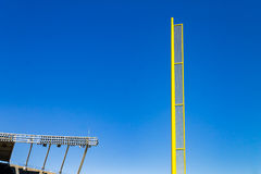Baseball foul ball pole royalty free stock images