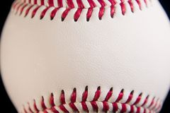 Baseball front Royalty Free Stock Photography
