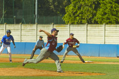 Baseball game Royalty Free Stock Photography