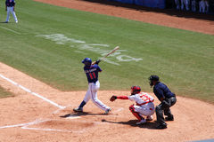 Baseball game. 2008.8.15 Baseball game, Chinese team - Taiwan team. Beijing Olympic Games Royalty Free Stock Image