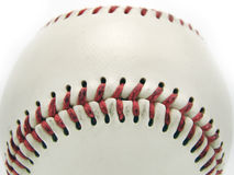 Baseball game ball isolated. On white background royalty free stock photography