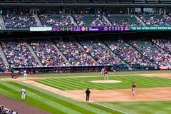 Baseball game Royalty Free Stock Photos