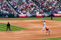 Baseball game Royalty Free Stock Image