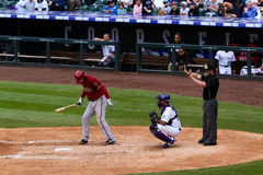 Baseball game Royalty Free Stock Images