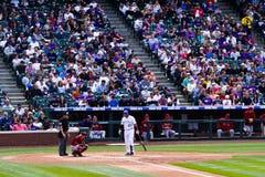 Baseball game Stock Photography