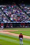 Baseball game Stock Image