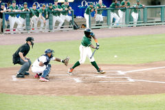 Baseball Game minor league Royalty Free Stock Image