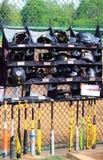 Baseball Bats Helmets Gloves