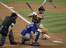 Baseball-geschlagener Eierteig lizenzfreie stockbilder