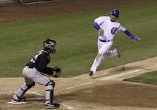 Baseball - gioco alla zolla! Fotografia Stock