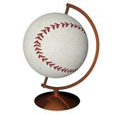 Baseball globe Royalty Free Stock Image