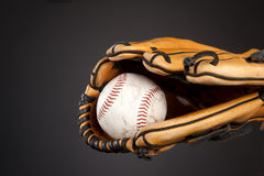 Baseball and glove Stock Image