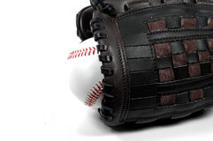 Baseball and Glove Royalty Free Stock Photos