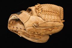 Baseball glove. Stock Image