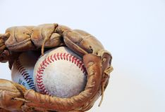 Baseball & Glove Stock Images
