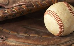 Baseball glove Royalty Free Stock Photos
