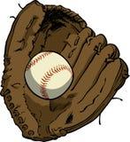 Baseball & Glove Stock Photo