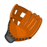 Baseball glove icon cartoon. Single sport icon from the big fitness, healthy, workout set. Royalty Free Stock Images
