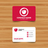 Baseball glove sign icon. Sport symbol. Royalty Free Stock Images