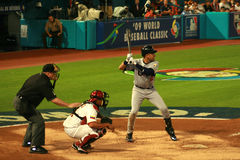 baseball gra Obrazy Royalty Free
