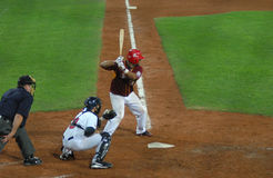 baseball gra usa Venezuela Fotografia Royalty Free