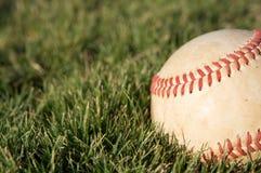 Baseball on the grass Royalty Free Stock Photos