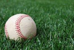 Baseball on Grass Stock Photos