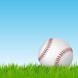 baseball grass green Det kan vara nödvändigt för kapacitet av designarbete Arkivbild